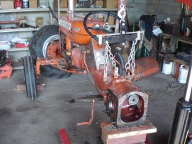 Fixing axle seals