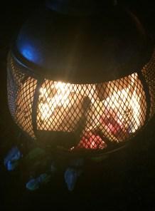 Ice Bar Fire Stove