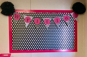 DIY decorating your classroom on a budget