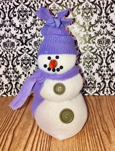 Snowman kids crafts