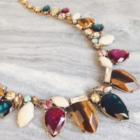 Coastline Statement Necklace $128