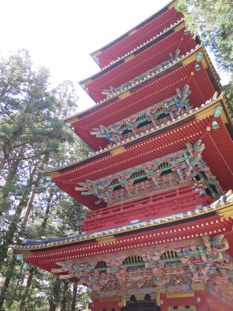 Toshugo Shrine and temple nikko