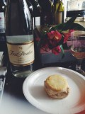 Ice cream sandwich and Riesling pairing