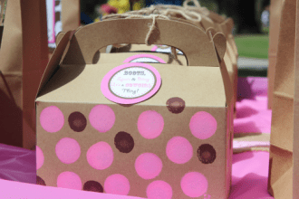 Gift bags for the cowgirl's