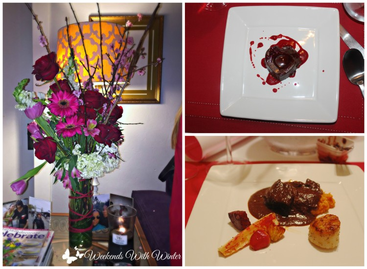 Florals, Dessert & Dinner Valentines Day Party