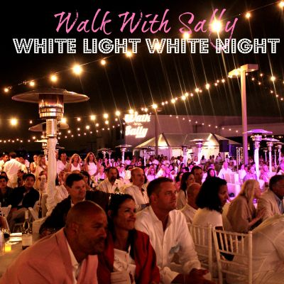Walk With Sally's White Light White Night