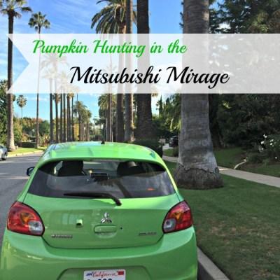Pumpkin Hunting in the Mitsubishi Mirage