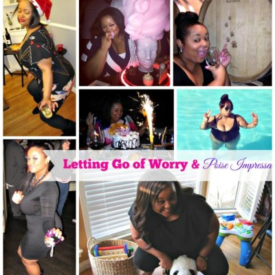 Letting Go of Worry & Poise Impressa