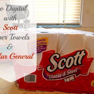Go Digital with Scott Paper Towels & Dollar General