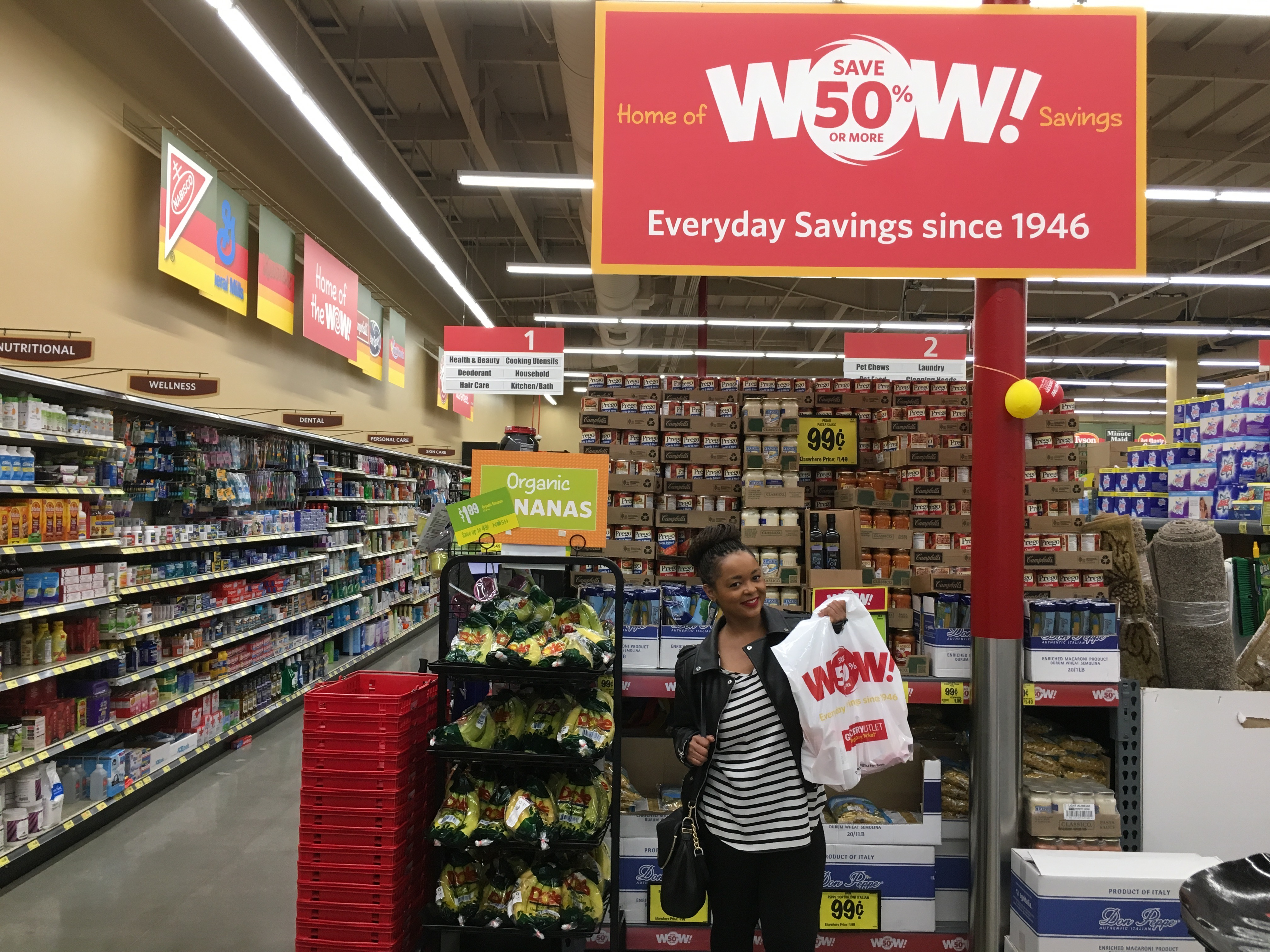wine'n down with grocery outlet