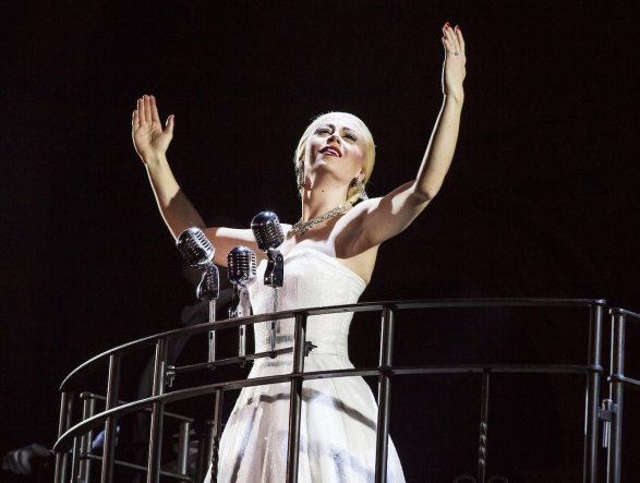 Evita at the New Theatre, Oxford