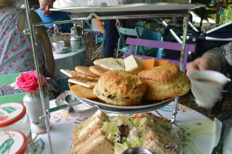 Jane's enchanted tea garden