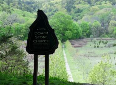 Dover Stone Church sign