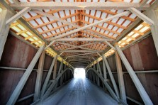 Leaman Place Covered Bridge