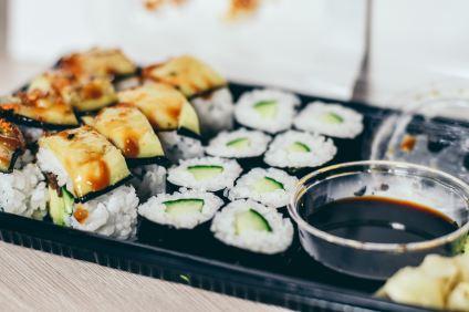 Sushi met Sauvignon Blanc