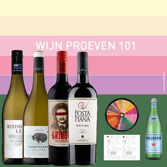 Thuis Wijnproeverij - DIY Wijn Proeven 101
