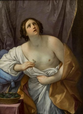 Guido Reni's Cleopatra - ie my amorphous blobby carb self. Gonna need a bigger snake to do the deed!