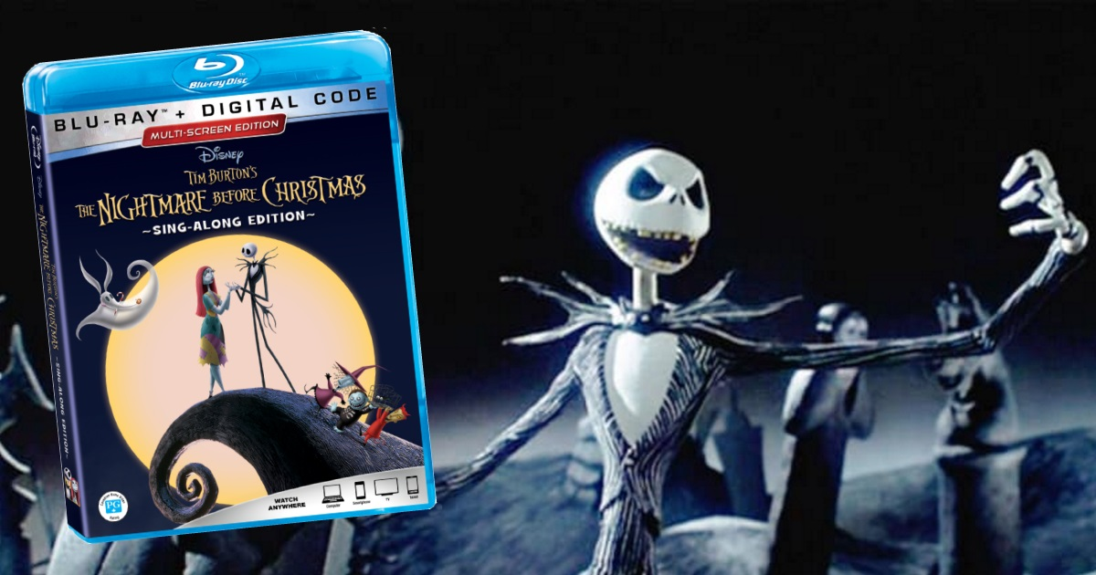 nightmare before christmas blu ray - Voice Of Jack Nightmare Before Christmas
