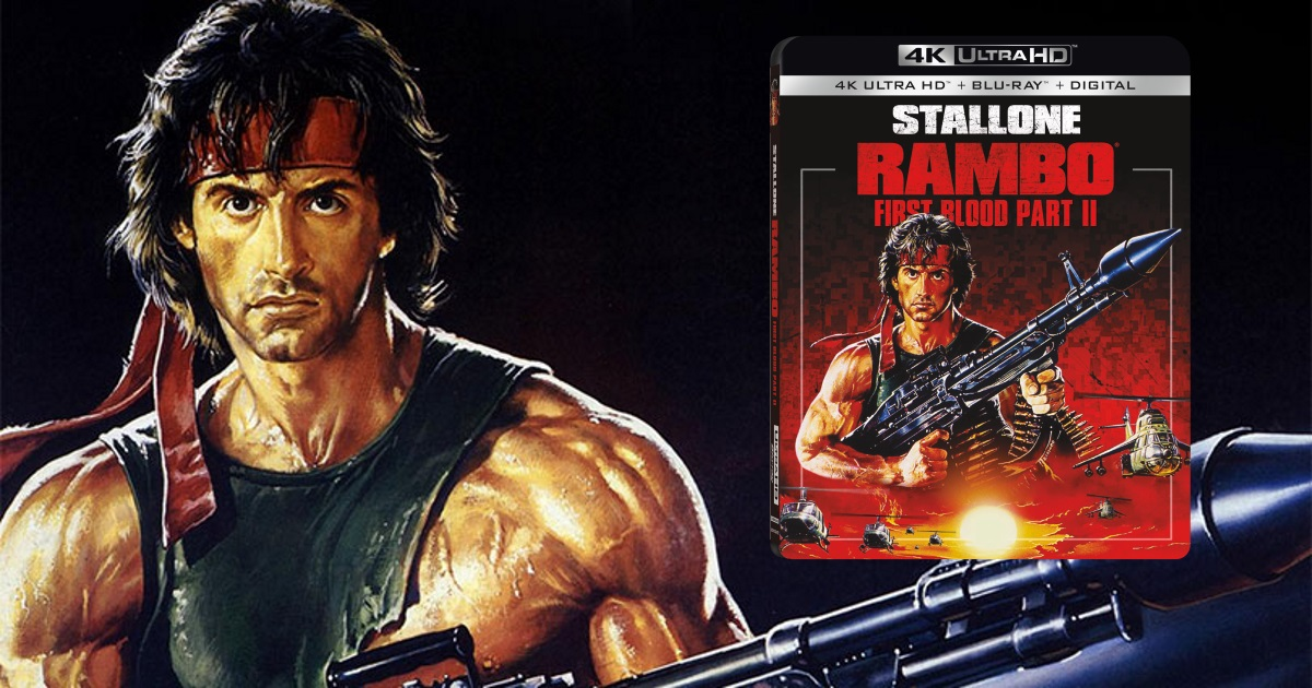 Rambo First Blood Part II 4K