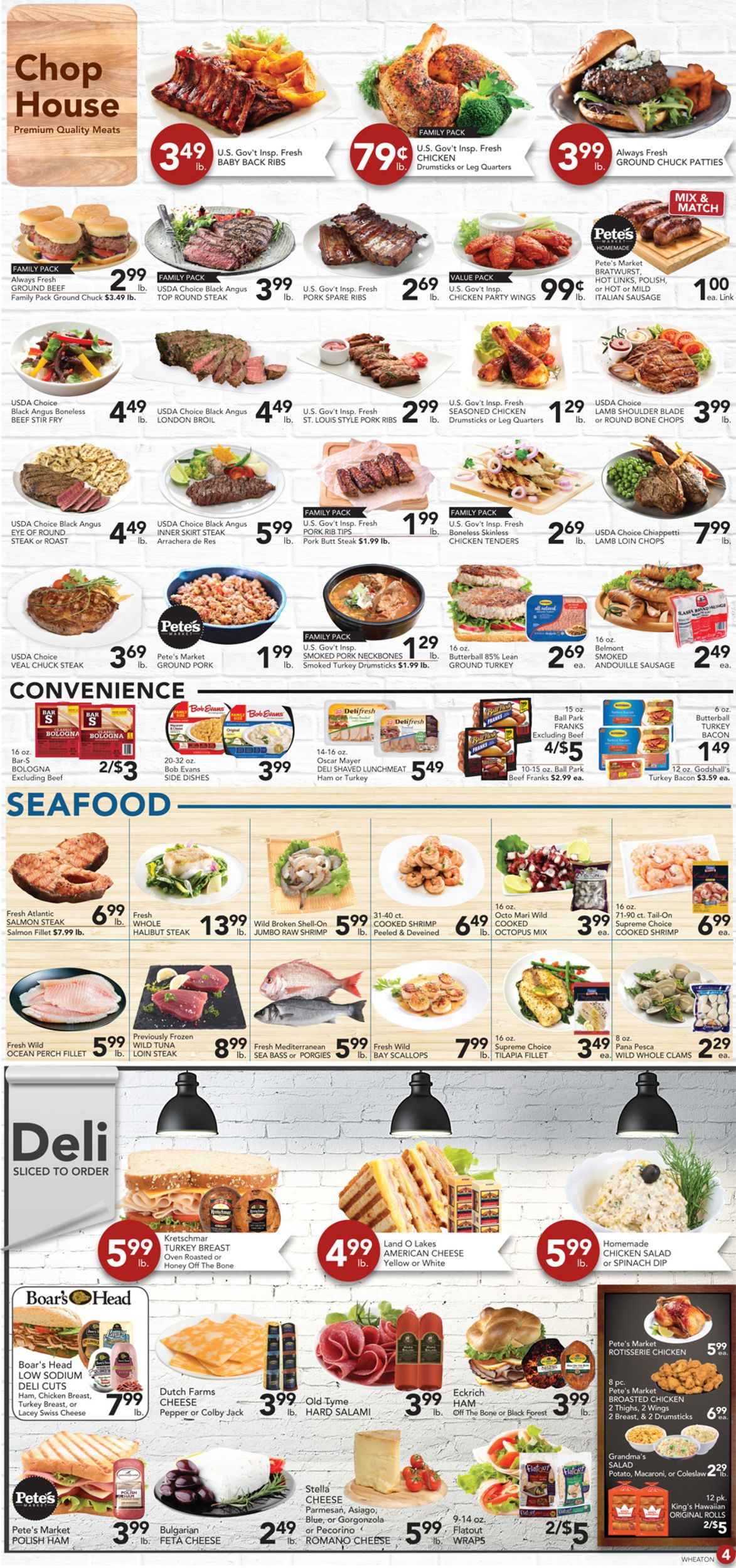 Bills Fresh Market Weekly Ad