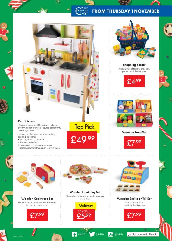 Lidl Offers Leaflet 1st 7th November 2018 Weekly Offers Online