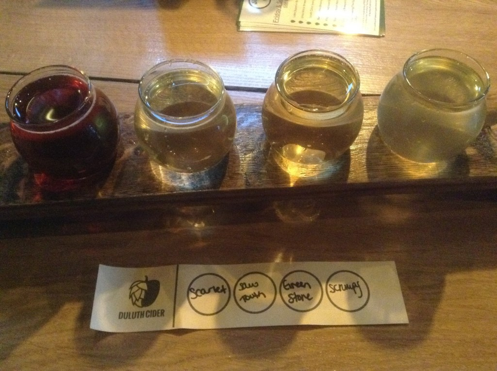 Day: salvaged (a flight of ciders)
