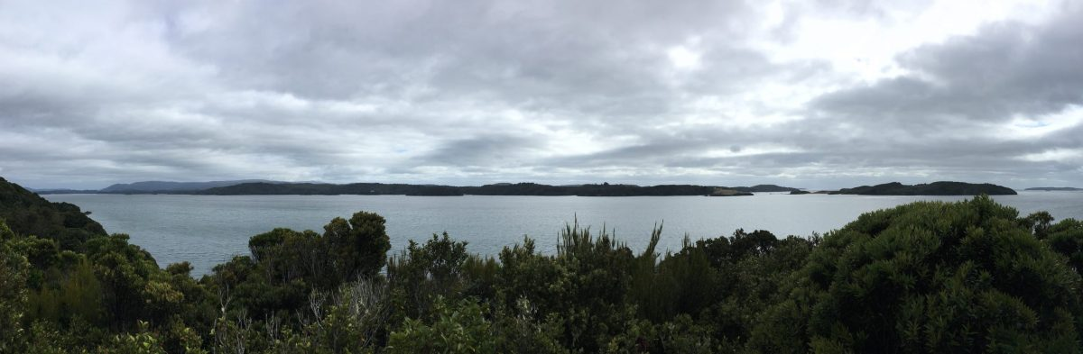 Panorama from the highest point on Ulva Island