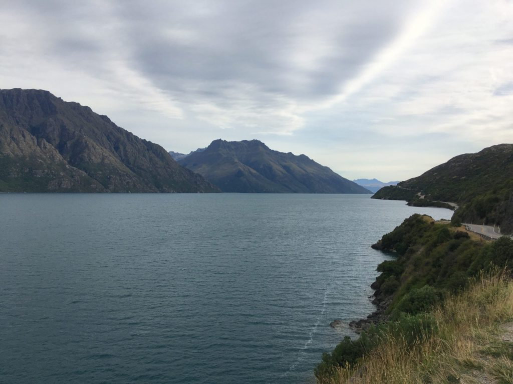 Some scenery between Te Anau and Queenstown