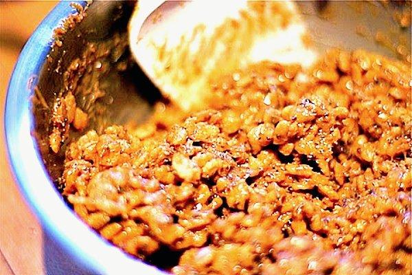brown rice crispy balls1