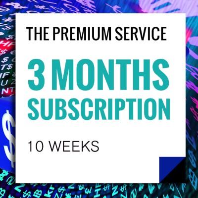 Premium Service 3-Months-Subscriptions