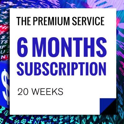 Premium Service 6-Months-Subscriptions