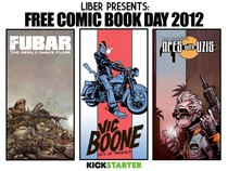 Credits: 215Ink, FUBAR Press, Liber Comic Distributor