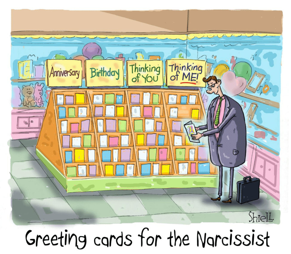 Cartoon greeting cards for the narcissist weekly humorist mikeshielljan2017cartoons01 2 m4hsunfo