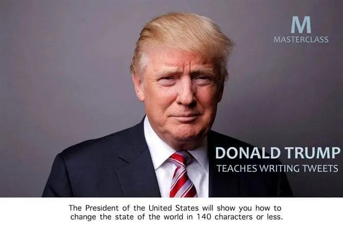 Master class trump