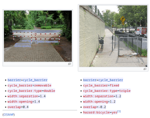 Requests for comments on barrier=cycle_barrier