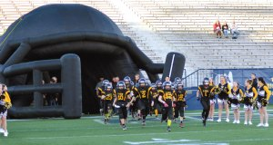 On Nov. 15, 2015, the Garfield G-Men youth varsity football team played the Crestwood Red Devils for the Super Bowl at Dix Stadium in Kent.