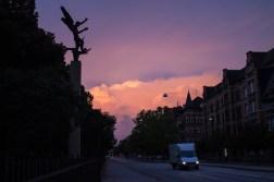 Another violet dawn. September 18, 2013.