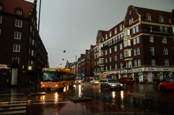 Back in Malmö the rain is pouring down. I was soaked.