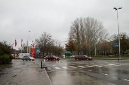 Rain in Malmö.