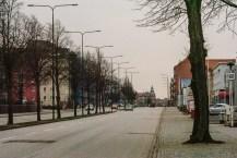 Grey afternoon along Lundavägen.