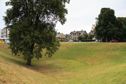 The depression in the ground by Öresundsgården have been used for meetings as late as in the middle of the 1900s.