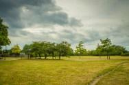Theathening skies in Djupadalsparken.