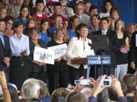 Sarah Palin in Cedar Rapids on September 18th, 2008.