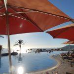 Sky Bar Pool. Cabo San Lucas. Sunset Beach.