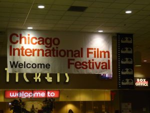 AMC Theater, Chicago, 50th Annual Chicago Film Festival.
