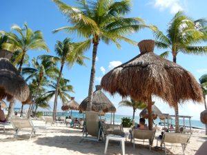 Beach at the Royal Mayan.