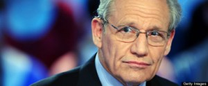 US journalist Bob Woodward takes part in
