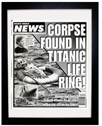 titanic corpse in life ring