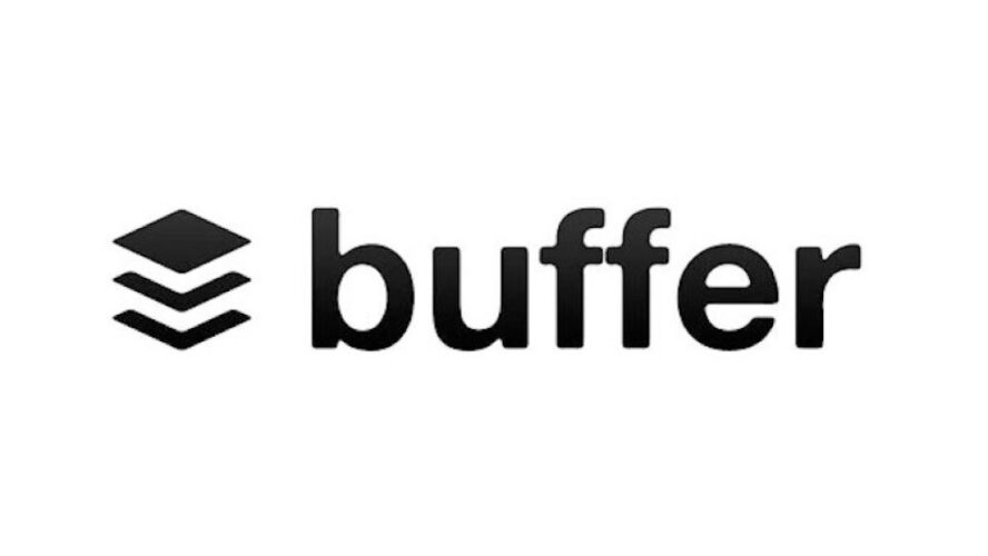 Buffer logo white and black describing the best mobile devices for freelancers to use