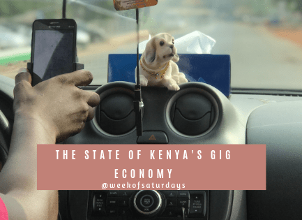 The State of Kenya's Gig Economy 6 The State of Kenya's Gig Economy Gig economy